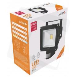 LED reflektor 20W s PIR pohybovým senzorom