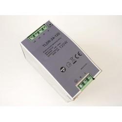 LED zdroj 24V 120W na DIN lištu - TLDR-24-120