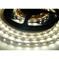 LED pásik 4.8W, 60 LED, Nezaliaty IP 20 - Denná biela