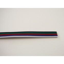 Plochý RGBW kábel