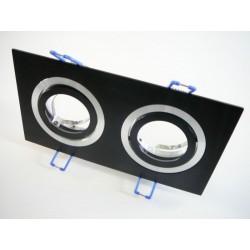 Podhľadový rámček D10-2B čierny