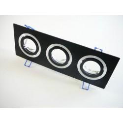Podhľadový rámček D10-3B čierny