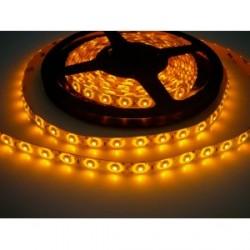 LED pásik 4.8W, 60 LED, Nezaliaty IP 20 - Žltý