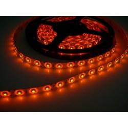 LED pásik 4.8W, 60 LED, Nezaliaty IP 20 - Oranžový
