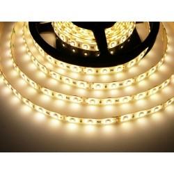 LED pásik 4.8W, 60 LED, Zaliaty IP 50 - Teplá biela