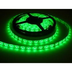 LED pásik 4.8W, 60 LED, Zaliaty IP 50 - Zelený