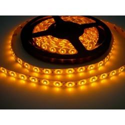 LED pásik 4.8W, 60 LED, Zaliaty IP 50 - Žltý