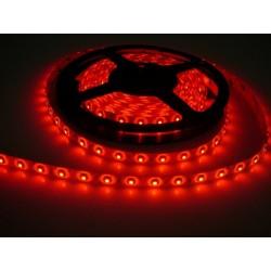 LED pásik 4.8W, 60 LED, Zaliaty IP 50 - Červený