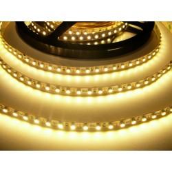LED pásik 9.6W, 120 LED, Nezaliaty IP 20 - Teplá biela