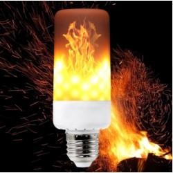 LED žiarovka E27 s efektom horiaceho ohňa