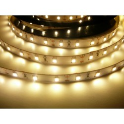 LED pásik 12W, 60 LED, Nezaliaty IP 20 - Teplá biela