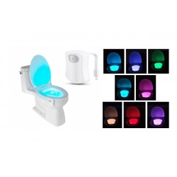 LED osvetlenie toalety s pohybovým senzorom