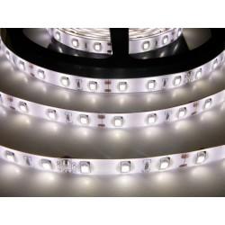 LED pásik 12W, 60 LED, Zaliaty IP 50 - Denná biela