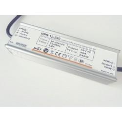LED zdroj 12V 240W HPS-12-240 Záruka 5 rokov - 12V 240W zdroj HPS-12-240 Záruka 5 rokov