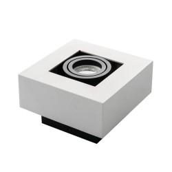 Prisadené svietidlo STOBI 50-W biele - STOBI DLP 50-W biele prisadené bodové svietidlo