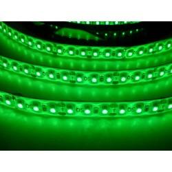 LED pásik 9.6W, 120 LED, Zaliaty IP 50 - Zelený