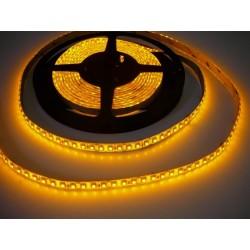 LED pásik 9.6W, 120 LED, Zaliaty IP 50 - Žltý