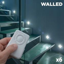 LED Osvetlenie WalLED Mini s Diaľkovým Ovládaním (balenie po 6)