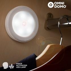 Bodové Svetlo so Zvukovým Čidlom Voluma LED