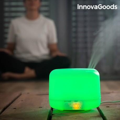 Zvlhčovač Vzduchu s aromadifuzérom LED Multi-Coloured InnovaGoods