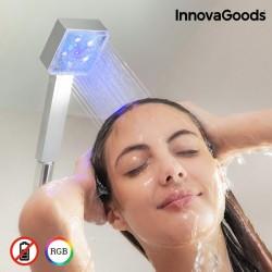 LED Ekosprcha s Tepelným Čidlom Square InnovaGoods