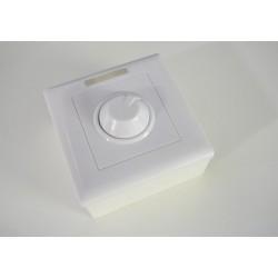 Manuálny LED ovládač stmievač M2 pre jednofarebné LED pásiky