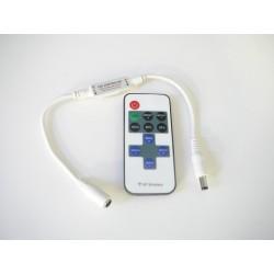 Diaľkový LED ovládač RF mini pre jednofarebné LED pásiky
