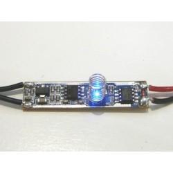 Dotykový LED stmievač do profilu 10AS pre jednofarebné LED pásiky