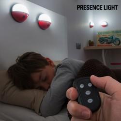 Přenosné LED Světlo s Dálkovým Ovládáním Pockelamp (4 kusy)