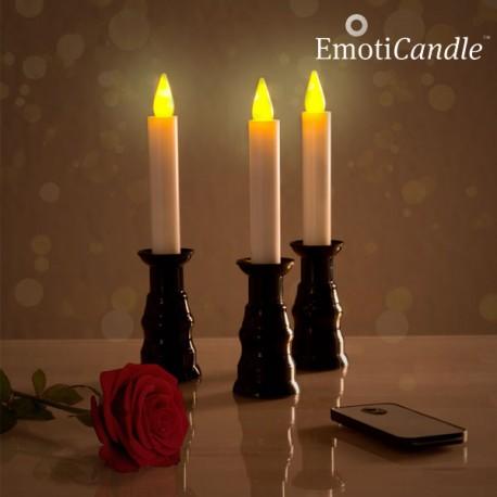 LED Svíčky Romantic Ambiance EmotiCandle (3 kusy)