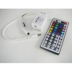 Diaľkový LED infra ovládač IR44B pre RGB LED pásiky