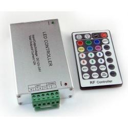 Diaľkový LED rádio ovládač RF6 pre RGB LED pásiky