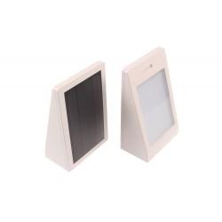 LED solární svítidlo MURO bílé
