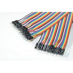 10cm breadboard kabel M-M