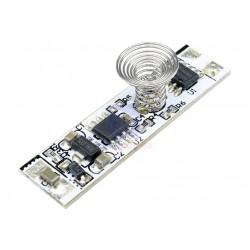 Dotykový LED stmívač do profilu 3A pro jednobarevné LED pásky