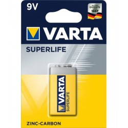9V baterie Varta Superlife 2022