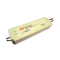 LED zdroj 12V 100W Mean Well LPV-100-12 IP67