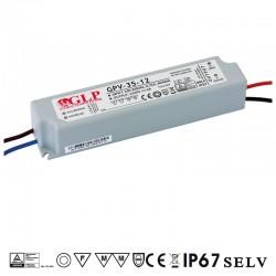LED zdroj 12V 35W GLP GPV-35-12 IP67