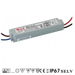 LED zdroj 12V 12W GLP GPV-12-12 IP67