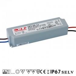 LED zdroj 24V 60W GLP GPV-60-24 IP67