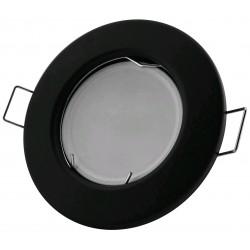 Podhledový rámeček černý matný kulatý N-B