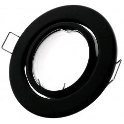 Podhledový rámeček černý matný kulatý výklopný NS-B