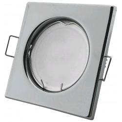 Podhledový rámeček chromový hranatý S-CH