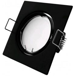 Podhledový rámeček černý matný hranatý výklopný SS-B
