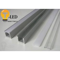 Nástenný LED profil N4 vysoký