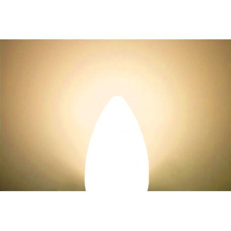 LED žiarovka E14 6W sviečka