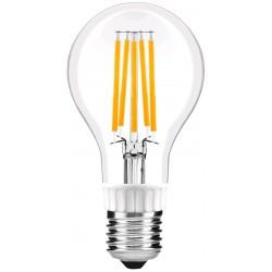 LED žárovka E27 12W FILAMENT retro - Čirá