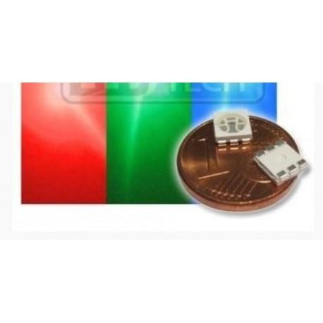 LED smd dióda 5050 RGB 600/1100/350 120°