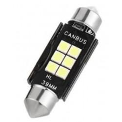 LED sufitka 39mm SMD 3030 canbus bílá
