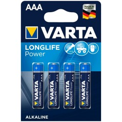 Varta Longlife Power Alkaline Micro Baterie AAA 4ks